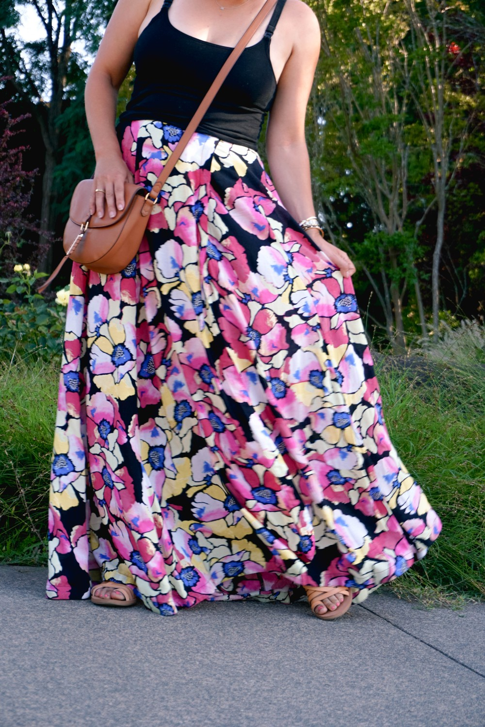 Hot Tropics Floral Maxi Skirt-Free People Floral Maxi Skirt-Outfit Inspiration-Wine Country-Mom Style-Nursing Top-Have Need Want 8