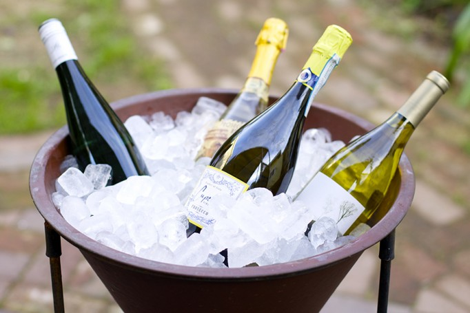 outdoor entertaining, annie glass, santa cruz, wine party, outdoor soiree