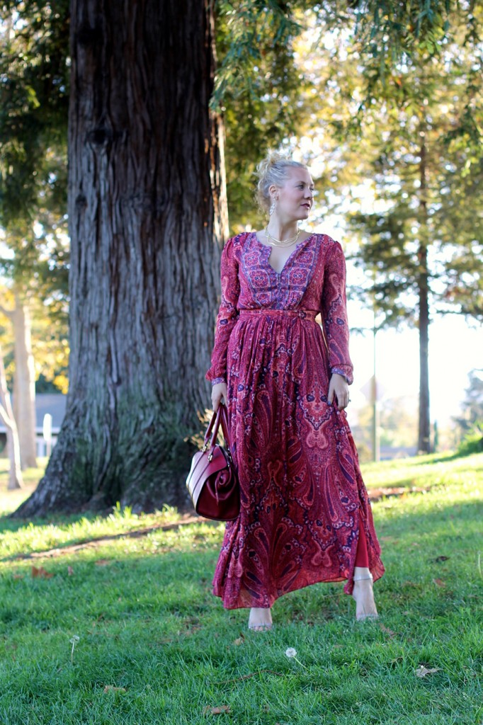 Joie Molly Maxi Dress-Fall Floral-Floral Joie Maxi Dress-Outfit Inspiration-Fashion Blogger-SF Fashion Blogger-Rent the Runway-Unlimited-Rocksbox-Jewelry Subscription-Have Need Want 10