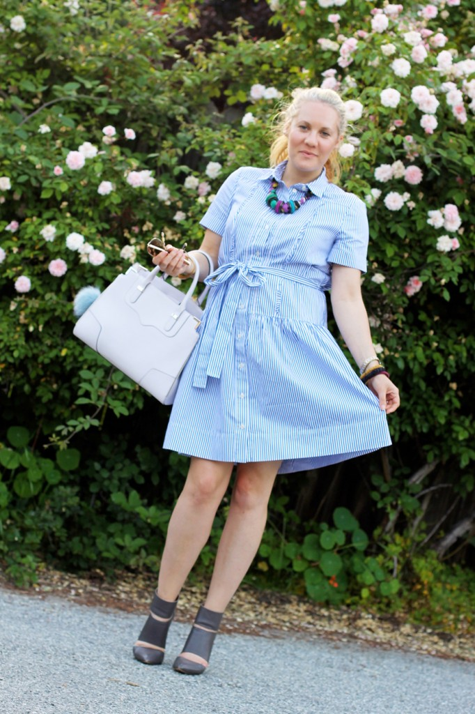 Kate Spade Shirt dress-Spring Style-Outfit Inspiration-Have Need Want-Rebecca Minkoff Handbag-Bay Area Fashion Blogger-San Francisco Blogger 7