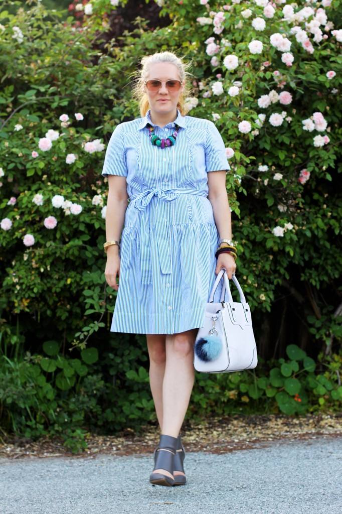 Kate Spade Shirt dress-Spring Style-Outfit Inspiration-Have Need Want-Rebecca Minkoff Handbag-Bay Area Fashion Blogger-San Francisco Blogger 8