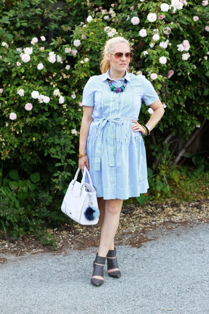 Kate Spade Shirt dress-Spring Style-Outfit Inspiration-Have Need Want-Rebecca Minkoff Handbag-Bay Area Fashion Blogger-San Francisco Blogger