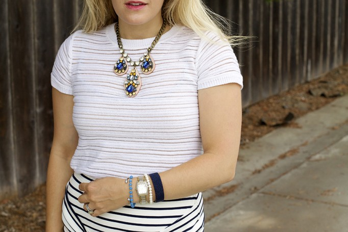 Kingdom & State Joie Clothing Summer Style Stripes on Stripes Target Style Fashion Blogger Bay Area 4