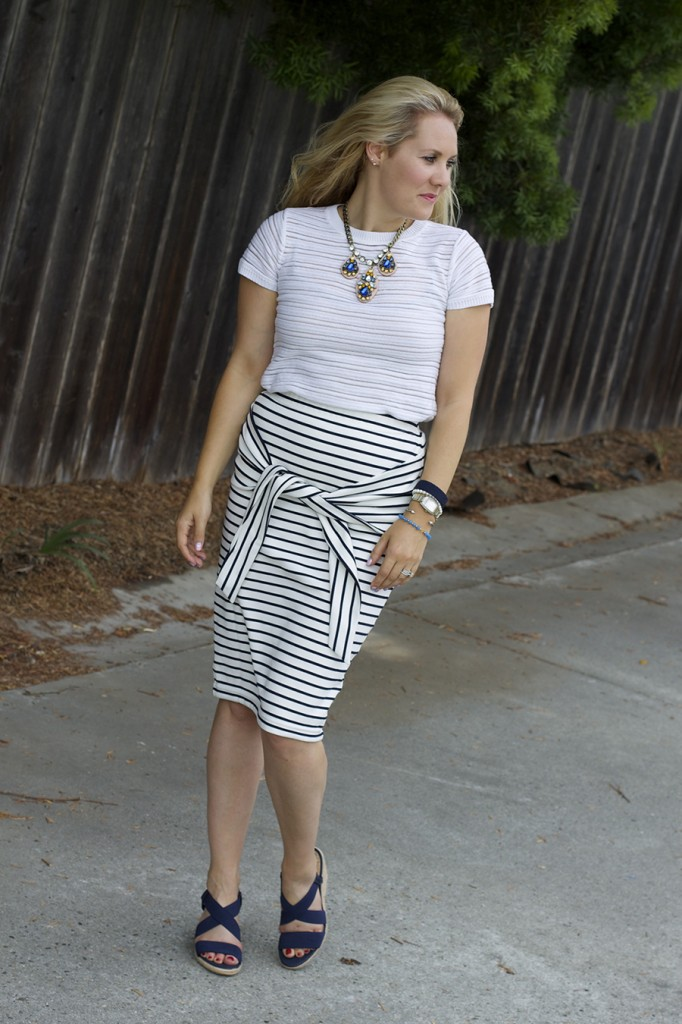 Kingdom & State Joie Clothing Summer Style Stripes on Stripes Target Style Fashion Blogger Bay Area 5