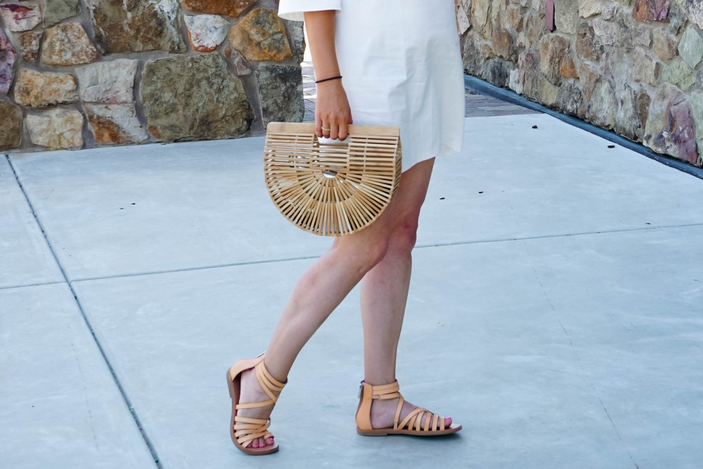 Lace-Up White Denim Dress-JOA Denim Dress-Summer Style-Bijou on the Park-Have Need Want-Outfit Inspiration-Mom Style 10