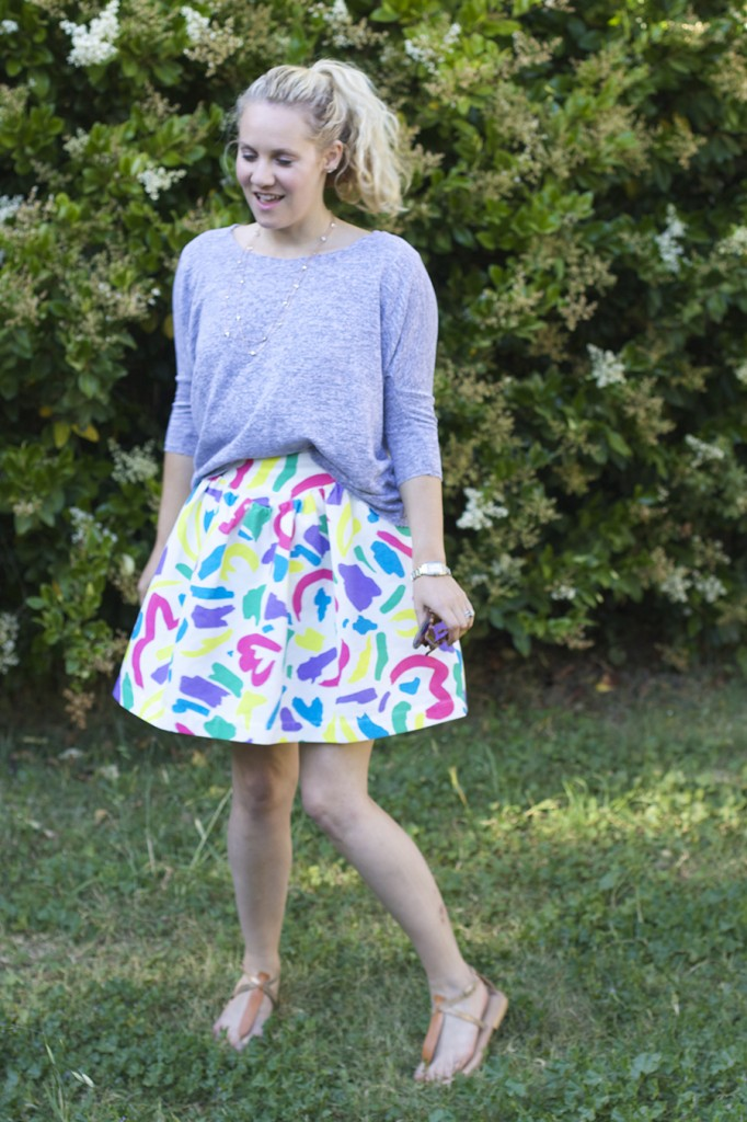 Moschino Jacquard Skirt Anthropologie Anthrofav fashion blogger outfit inspiration style tips 2