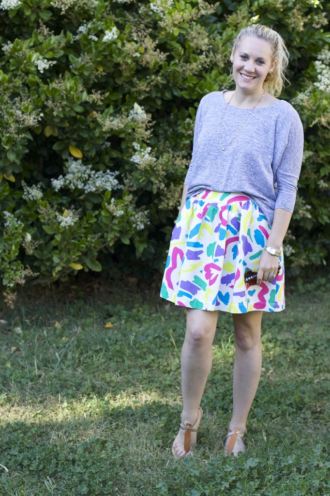 Moschino Jacquard Skirt Anthropologie Anthrofav fashion blogger outfit inspiration style tips 5