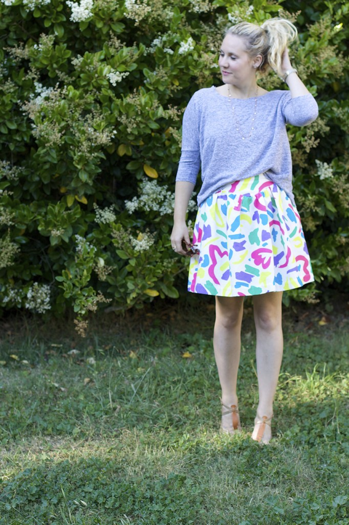 Moschino Jacquard Skirt Anthropologie Anthrofav fashion blogger outfit inspiration style tips 6