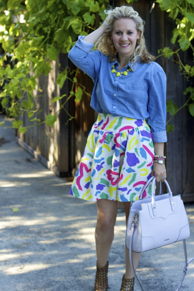 Moschino Lucky Brand Via Spiga Three Ways to Wear Fashion Blogger 2
