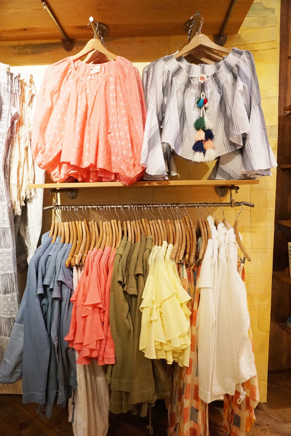 Mother's Day Gift Guide with Santana Row-Anthropologie-Nursing Friendly Top 2