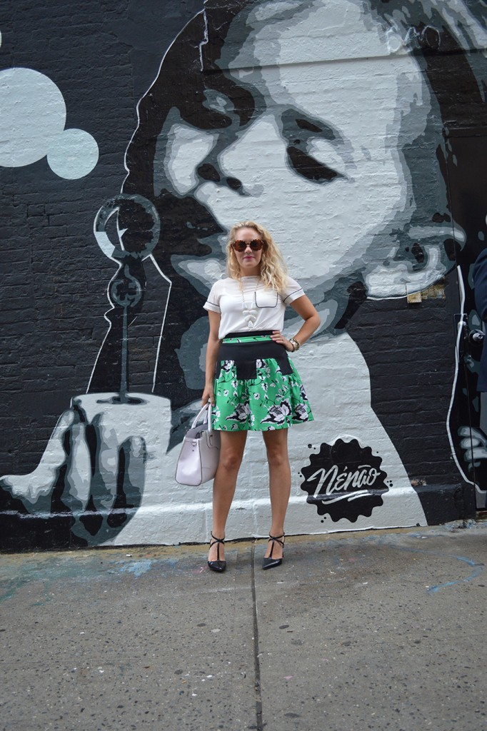 NYFW Street Style, Fashion Blogger, DVF, Kendra Scott, Nine West, French Connection, New York Fashion Week Day One Street Style 2