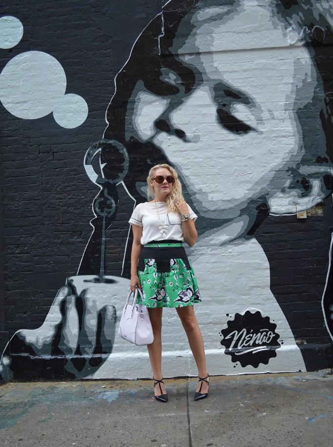 NYFW Street Style, Fashion Blogger, DVF, Kendra Scott, Nine West, French Connection, New York Fashion Week Day One Street Style 3
