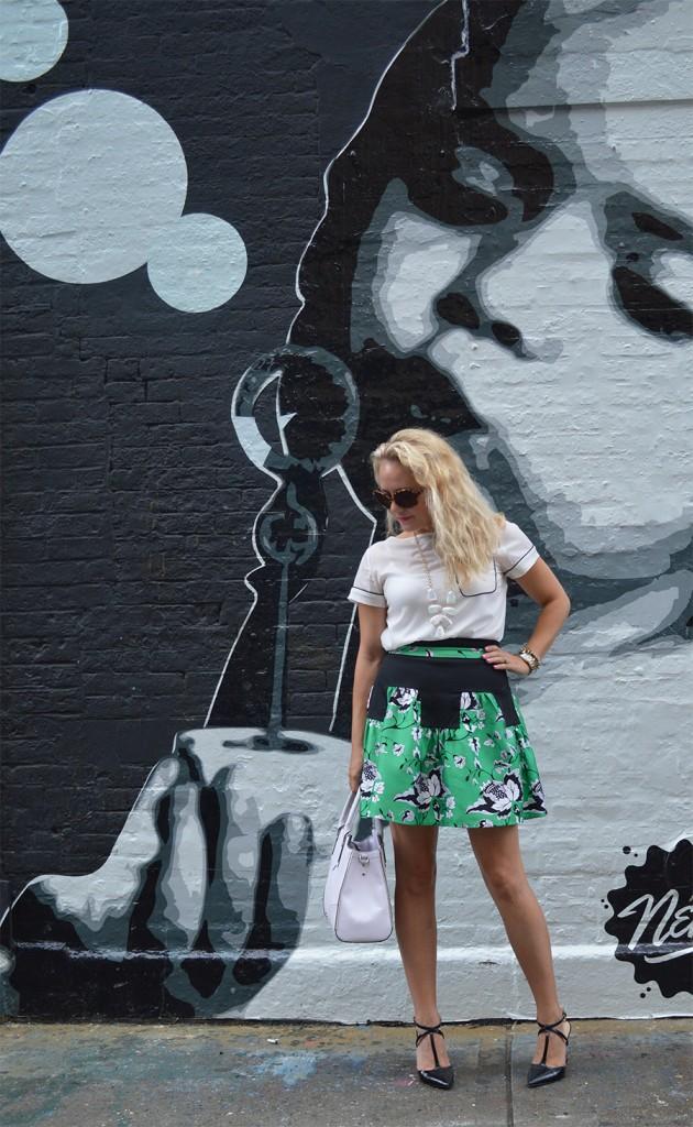 NYFW Street Style, Fashion Blogger, DVF, Kendra Scott, Nine West, French Connection, New York Fashion Week Day One Street Style 4