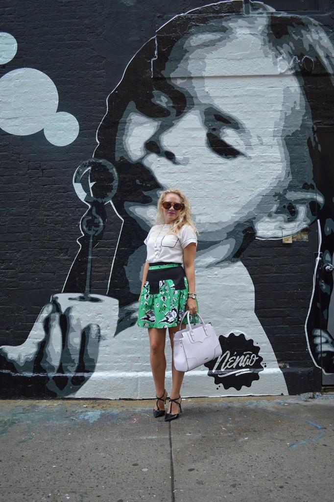 NYFW Street Style, Fashion Blogger, DVF, Kendra Scott, Nine West, French Connection, New York Fashion Week Day One Street Style 5