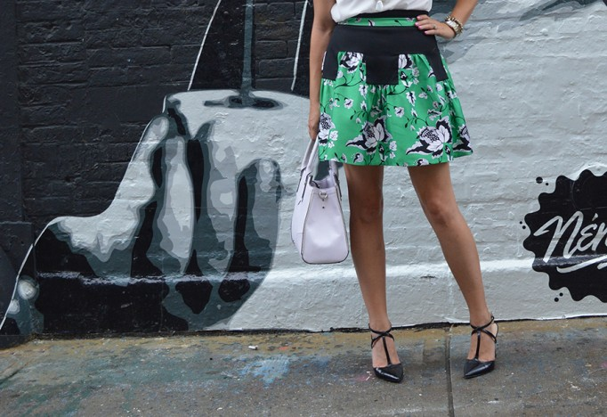 NYFW Street Style, Fashion Blogger, DVF, Kendra Scott, Nine West, French Connection, New York Fashion Week Day One Street Style 8