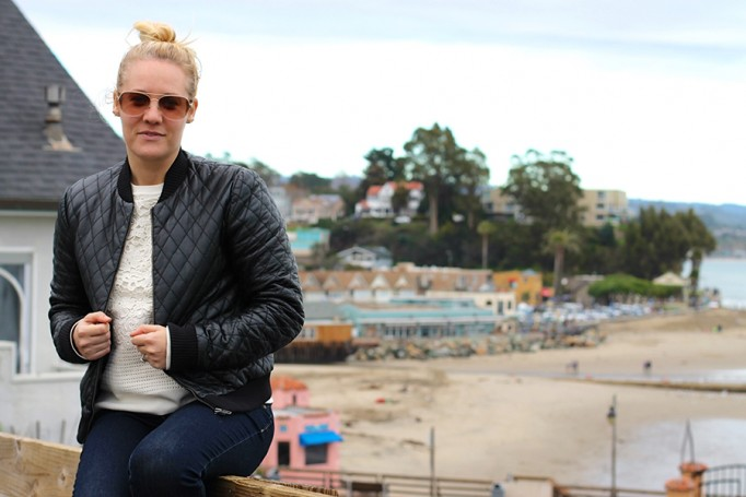 Nicole Miller-Leather Bomber Jacket-Off Duty Style-Outfit Inspiration-Have Need Want-Bay Area Fashion Blogger-Fashion Blog-Santa Cruz-Weekend Outfit Inspiration-Tibi Sweater 9