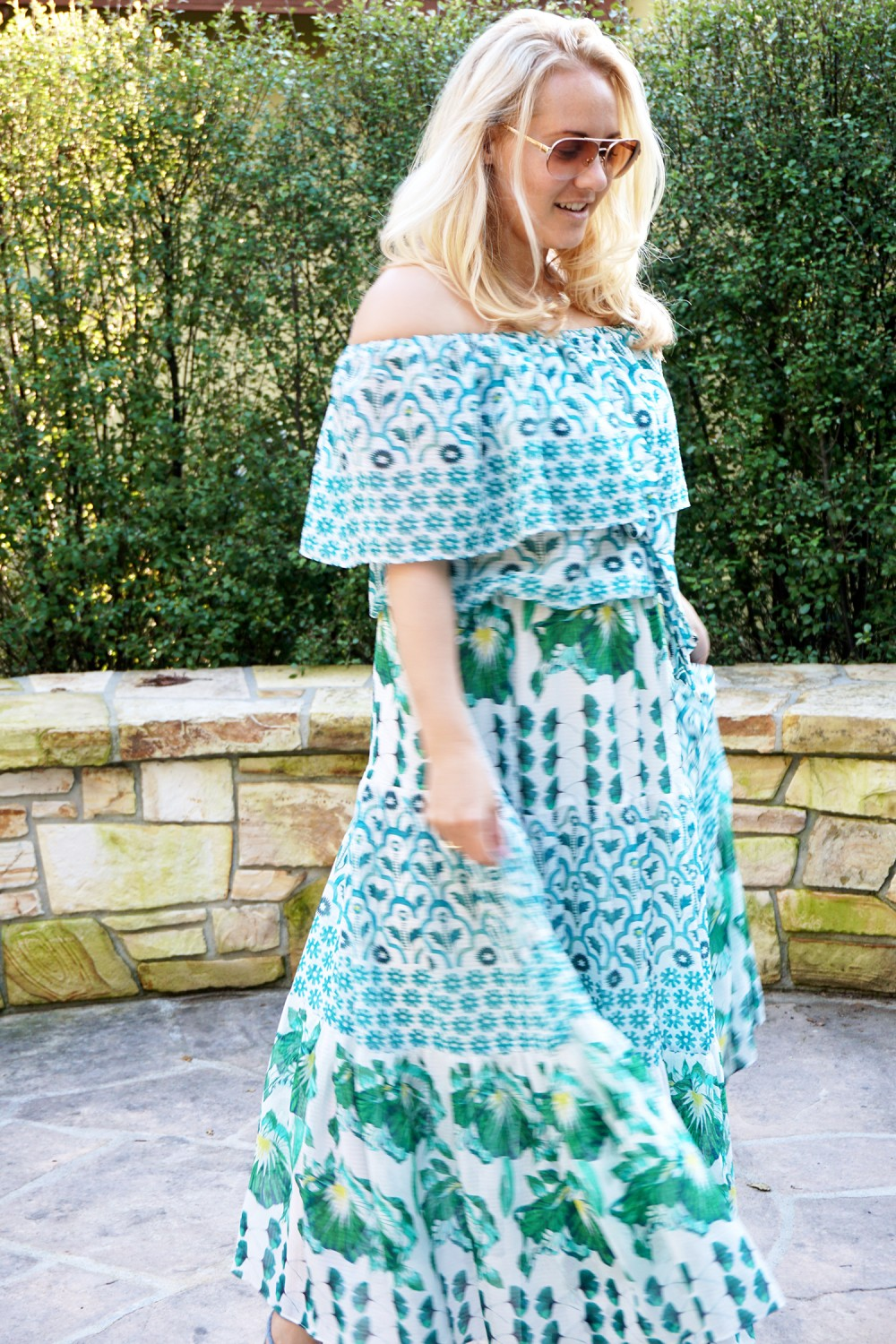 Off The Shoulder Maxi Dress-Temperley London-Outfit Inspiration-Wine Tasting-Visit Carmel by the Sea-Have Need Want 3