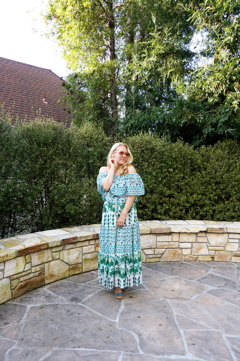 Off The Shoulder Maxi Dress-Temperley London-Outfit Inspiration-Wine Tasting-Visit Carmel by the Sea-Have Need Want 9