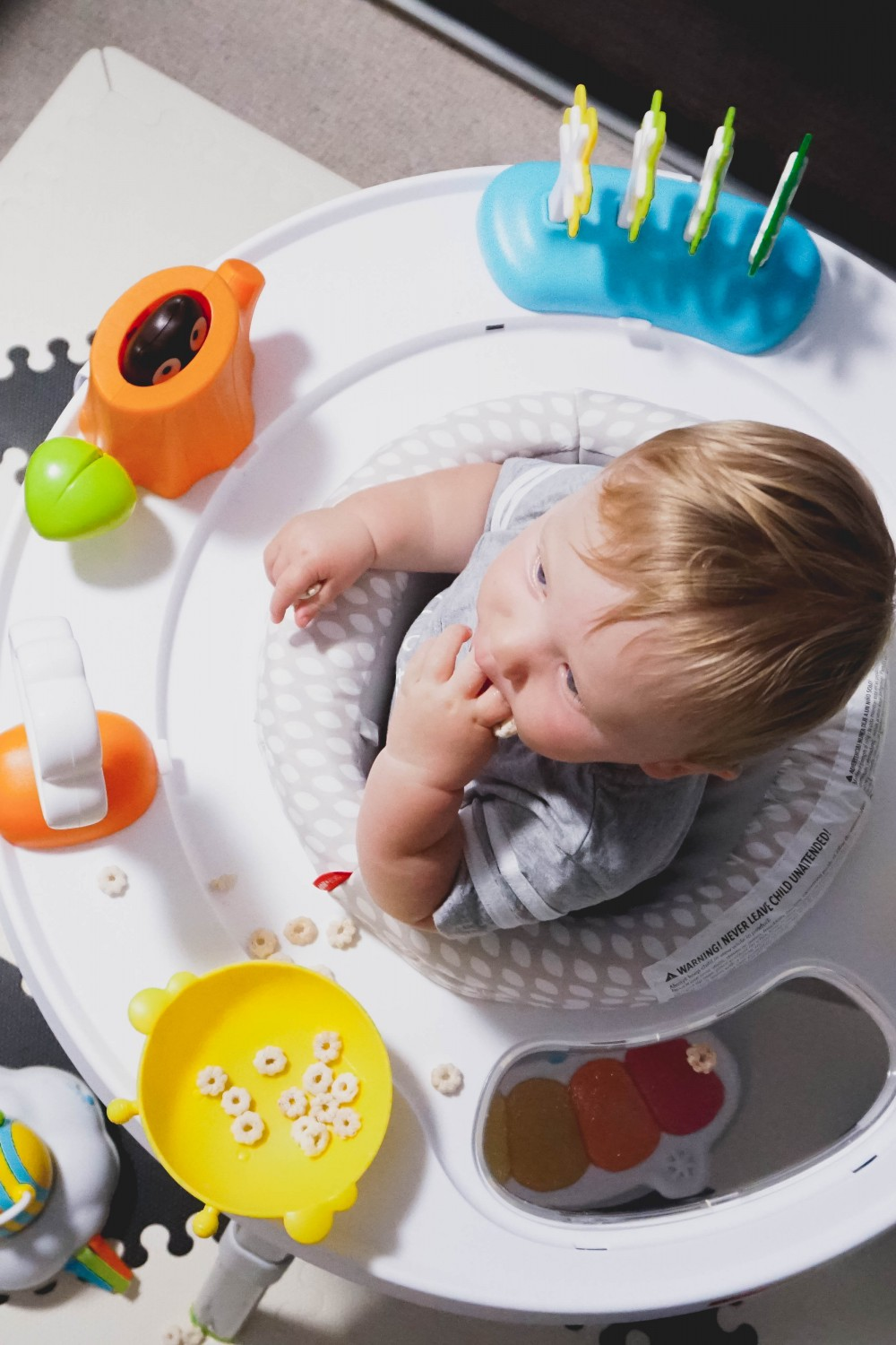 Playtime fun with Skip Hop-Skip Hop Floor Mats-Activity Gym-Mason's 10 Month Update-Motherhood-Have Need Want at Home 10