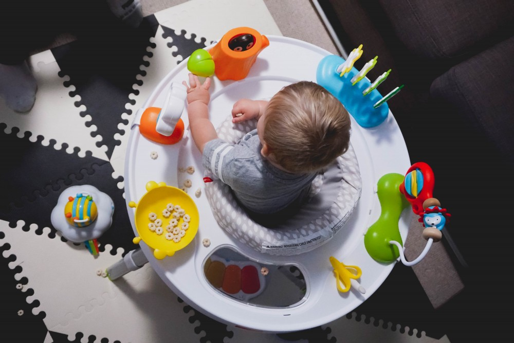Playtime fun with Skip Hop-Skip Hop Floor Mats-Activity Gym-Mason's 10 Month Update-Motherhood-Have Need Want at Home 11