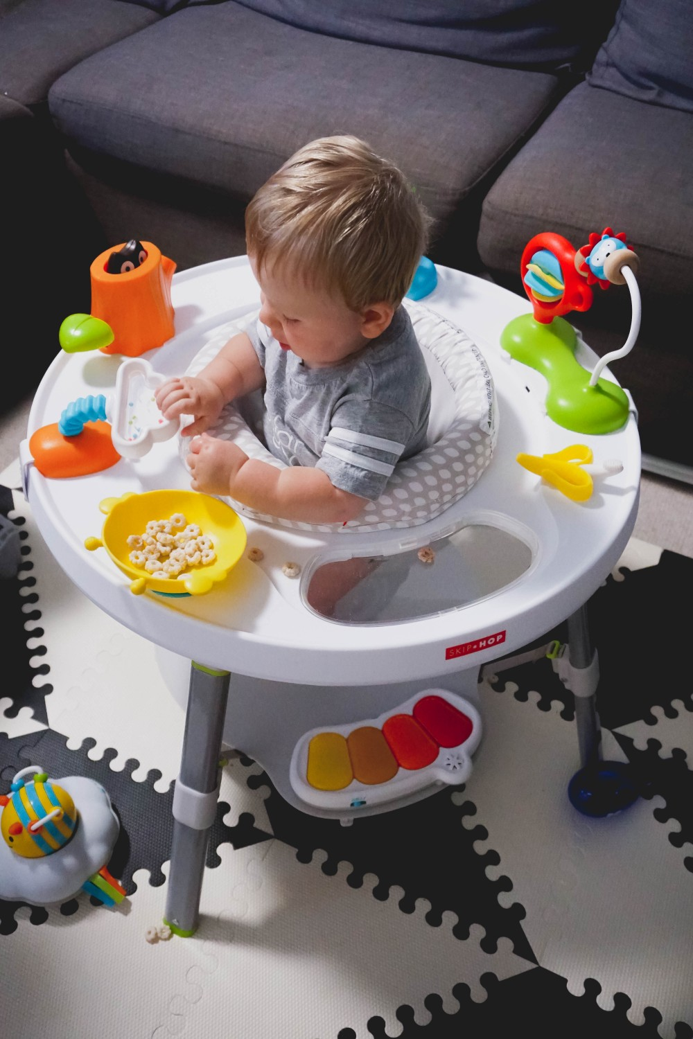 Playtime fun with Skip Hop-Skip Hop Floor Mats-Activity Gym-Mason's 10 Month Update-Motherhood-Have Need Want at Home 12