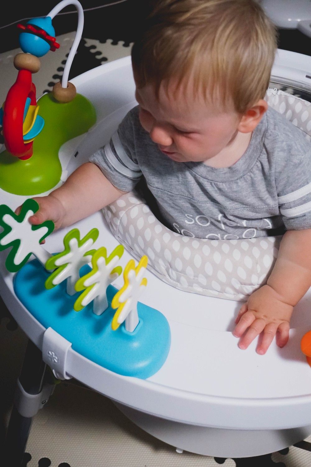 Playtime fun with Skip Hop-Skip Hop Floor Mats-Activity Gym-Mason's 10 Month Update-Motherhood-Have Need Want at Home 4
