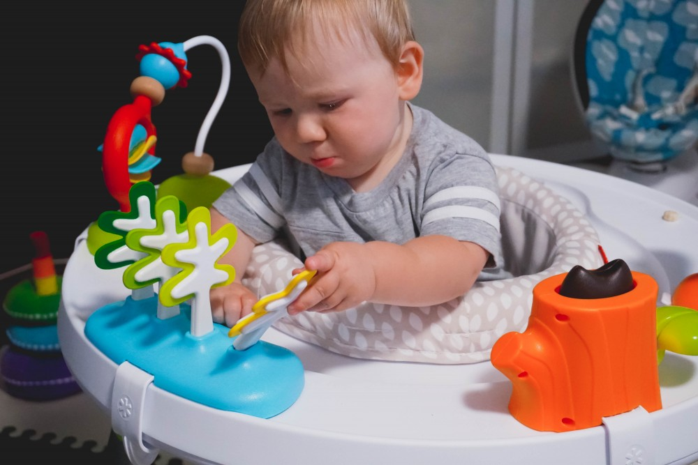 Playtime fun with Skip Hop-Skip Hop Floor Mats-Activity Gym-Mason's 10 Month Update-Motherhood-Have Need Want at Home 5