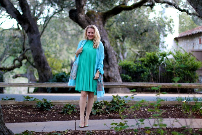 Pleated Swing Dress-Spring Style-Fashion Blogger-Have Need Want-Tracy Reese 4