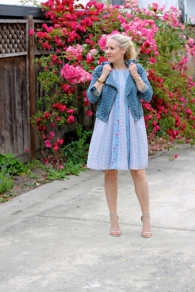 Rebecca Taylor cami dress-swing dress-spring style-outfit inspiration-Have Need Want