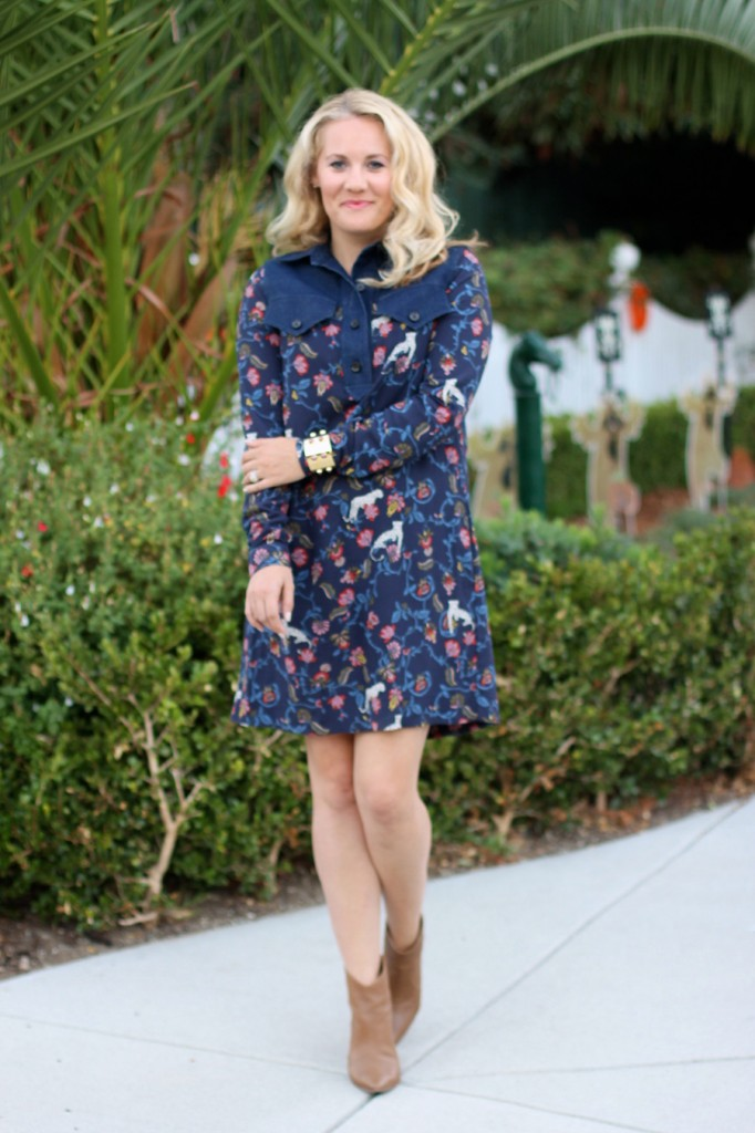 See by Chloe-Have Need Want-Bay Area Fashion Blogger-Kenneth Cole Reaction-Booties-Fall Style-Bauble Bar-Olivia Palermo for Bauble Bar-Shirt Dress-Fall Shirt Dress-Outfit Inspiration 10