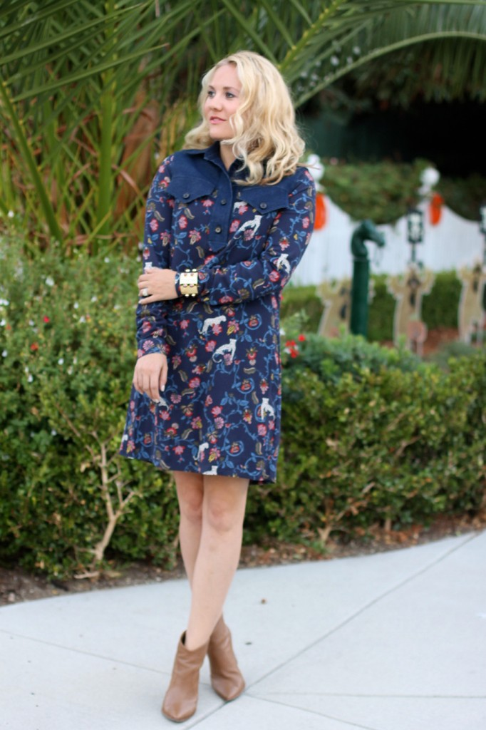 See by Chloe-Have Need Want-Bay Area Fashion Blogger-Kenneth Cole Reaction-Booties-Fall Style-Bauble Bar-Olivia Palermo for Bauble Bar-Shirt Dress-Fall Shirt Dress-Outfit Inspiration 4