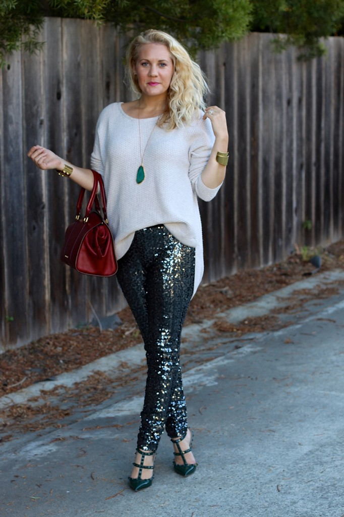 Sequin Pants-Holiday Outfit Inspiration-Have Need Want-Fashion Blogger-BB Dakota-Valentino-Burberry-Bay Area Fashion Blogger 4
