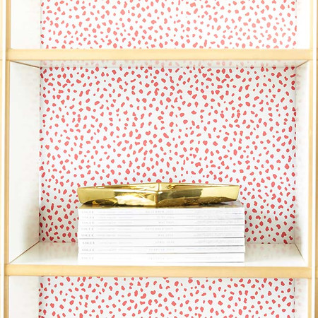 Speckle+Removable+Wallpaper+in+Pink