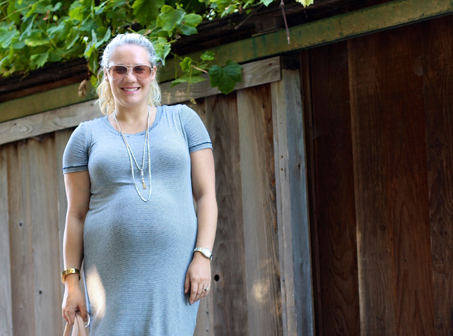 Splendid Stripe Shirt Dress-4th of July-Have Need Want-Maternity Style 3