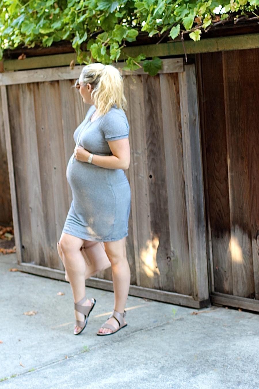 Splendid Stripe Shirt Dress-4th of July-Have Need Want-Maternity Style 7