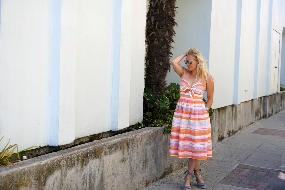 Spring Stripe Dress-Stripes and Cut Outs-Outfit Inspiration-Bay Area Blogger-Summer Dress-Sunday Best Outfit Inspiration-Have Need Want 12