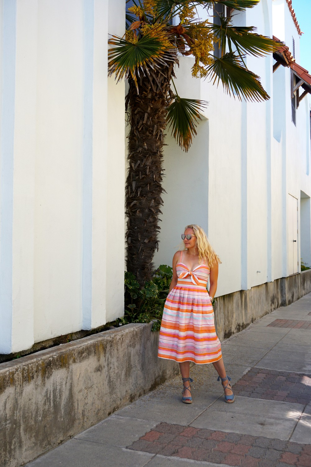 Spring Stripe Dress-Stripes and Cut Outs-Outfit Inspiration-Bay Area Blogger-Summer Dress-Sunday Best Outfit Inspiration-Have Need Want 4
