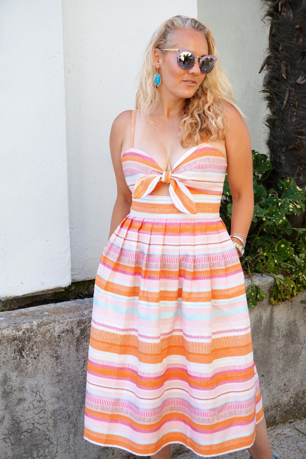 Spring Stripe Dress-Stripes and Cut Outs-Outfit Inspiration-Bay Area Blogger-Summer Dress-Sunday Best Outfit Inspiration-Have Need Want 9