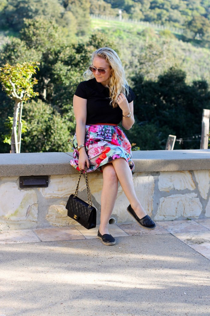 Ted Baker-Spring Style-Chanel Handbag-What to Wear Wine Tasting-Have Need Want-wine Tasting Carmel Valley 3