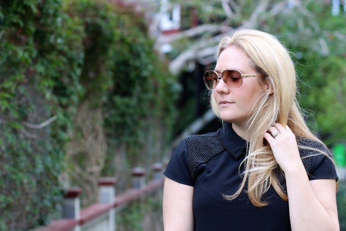 Ted Baker-embellished shoulder blouse-Weekend Style-English Factory Jacket-Sam Edelman Shoes-Burberry Handbag-Spring Transition-Fashion Blogger-Bay Area Fashion Blogger-Have Need Want Blog 3