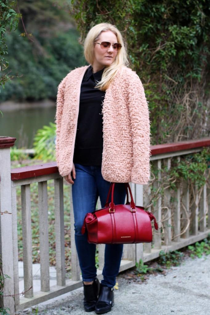 Ted Baker-embellished shoulder blouse-Weekend Style-English Factory Jacket-Sam Edelman Shoes-Burberry Handbag-Spring Transition-Fashion Blogger-Bay Area Fashion Blogger-Have Need Want Blog 4