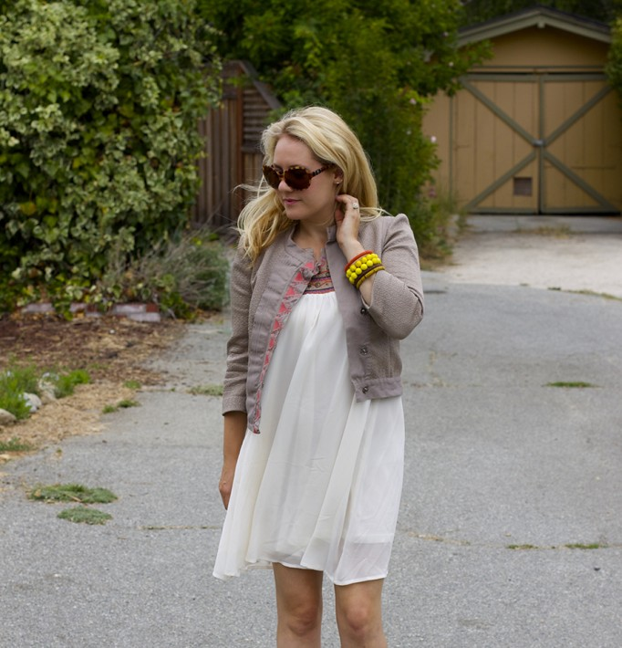 The Mint Julep Boutique Embellished Dress Flowy Dress Fashion Blogger Outfit Inspiration Summer Dress 9