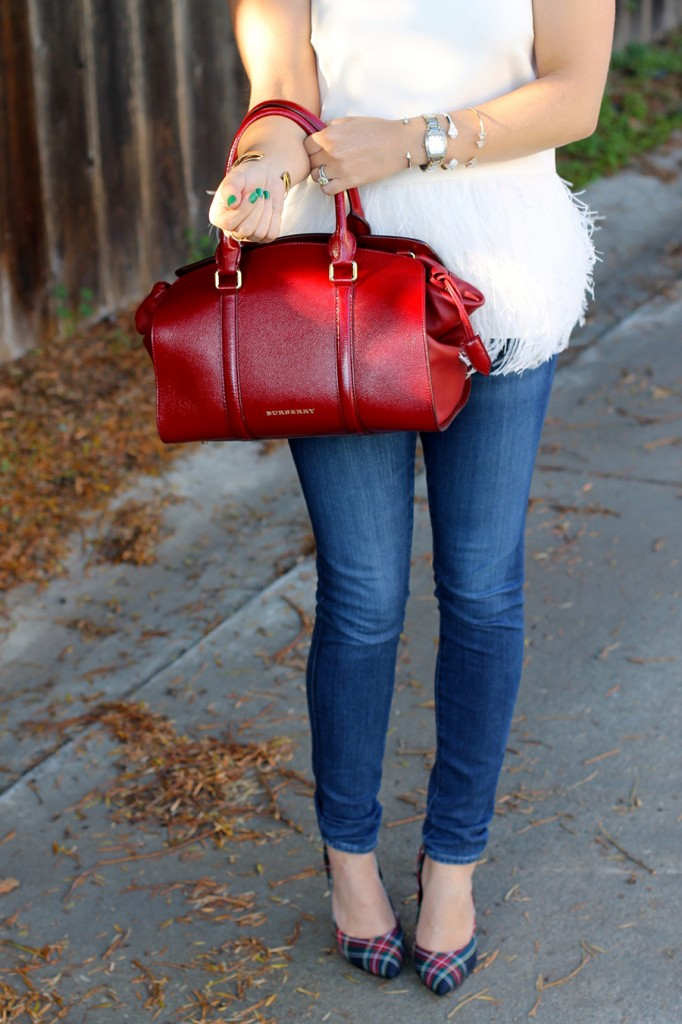 Tibi-Feather Top-Outfit Inspiration-Winter Style-Charles David- Winter Style with ShoeBuy 6