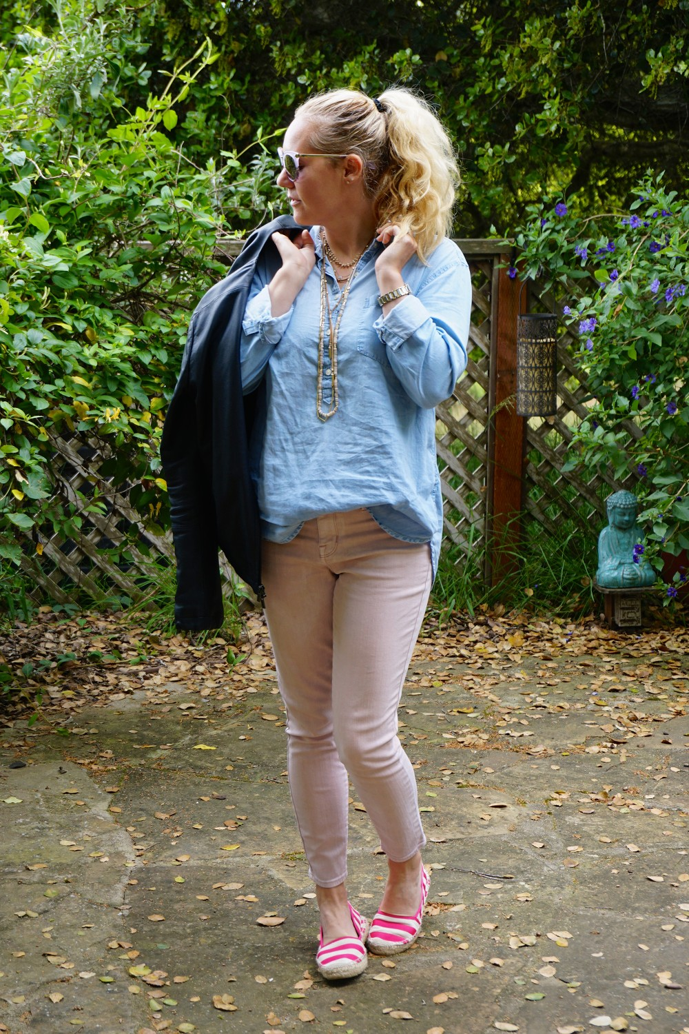 Two Ways to Wear Pale Pink Pants-Target Style-Mossimo Pants-Oufit Inspiration-Spring Style-Have Need Want 10