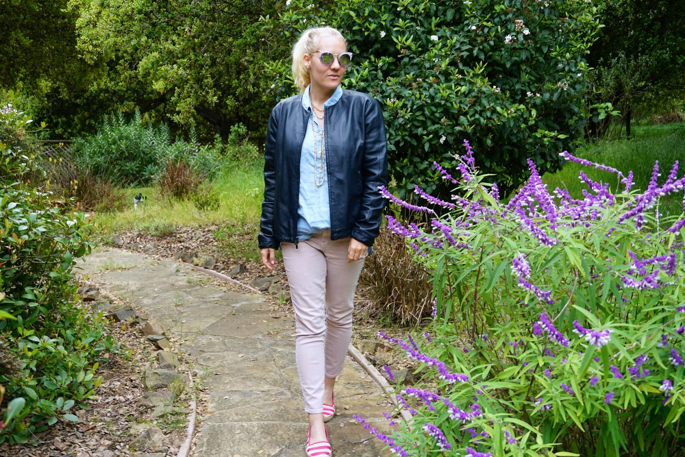 Two Ways to Wear Pale Pink Pants-Target Style-Mossimo Pants-Oufit Inspiration-Spring Style-Have Need Want 14