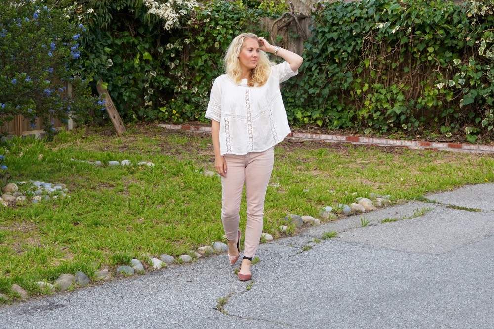 Two Ways to Wear Pale Pink Pants-Target Style-Mossimo Pants-Oufit Inspiration-Spring Style-Have Need Want 3