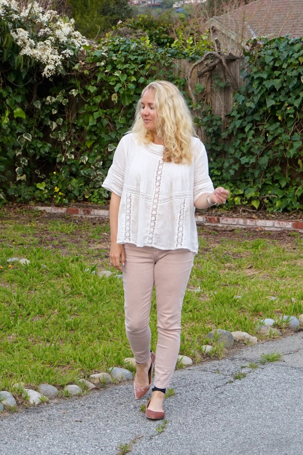Two Ways to Wear Pale Pink Pants-Target Style-Mossimo Pants-Oufit Inspiration-Spring Style-Have Need Want 7