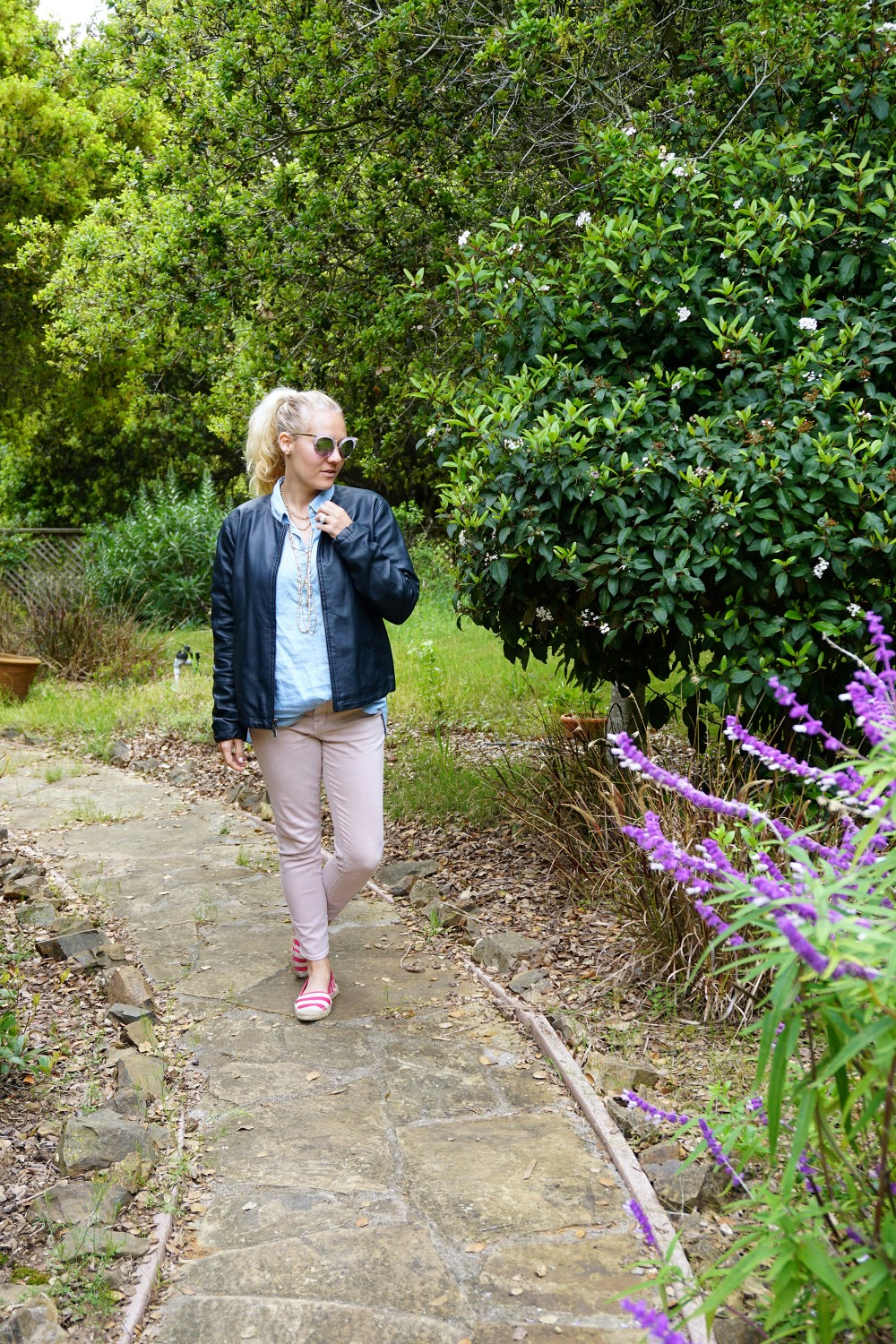 Two Ways to Wear Pale Pink Pants-Target Style-Mossimo Pants-Oufit Inspiration-Spring Style-Have Need Want 8