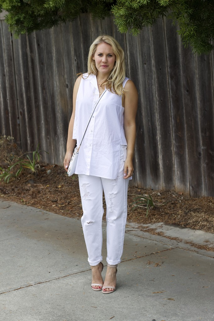 White on White Les Mechantes Summer Style Outfit Ideas ACE Target Style Fashion Blogger 2