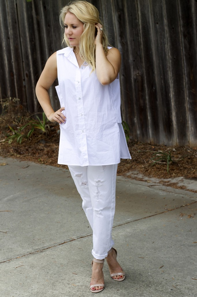 White on White Les Mechantes Summer Style Outfit Ideas ACE Target Style Fashion Blogger 6